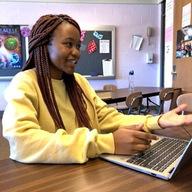 Michelle Mokaya in the spotlight